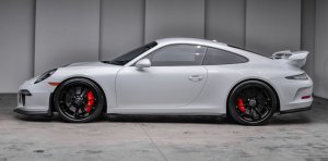 2015 Porsche 911 GT3 Carrera White Side