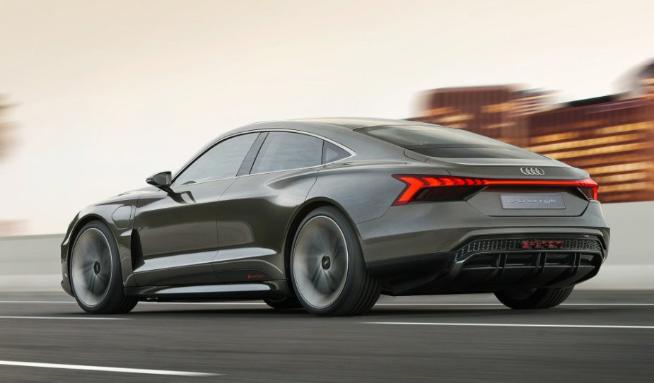 Audi eTron GT Concept Rear