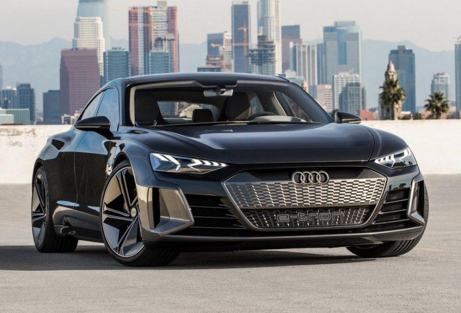 Audi eTron GT Concept Low Front