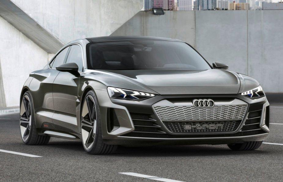 Audi eTron GT Concept Front End