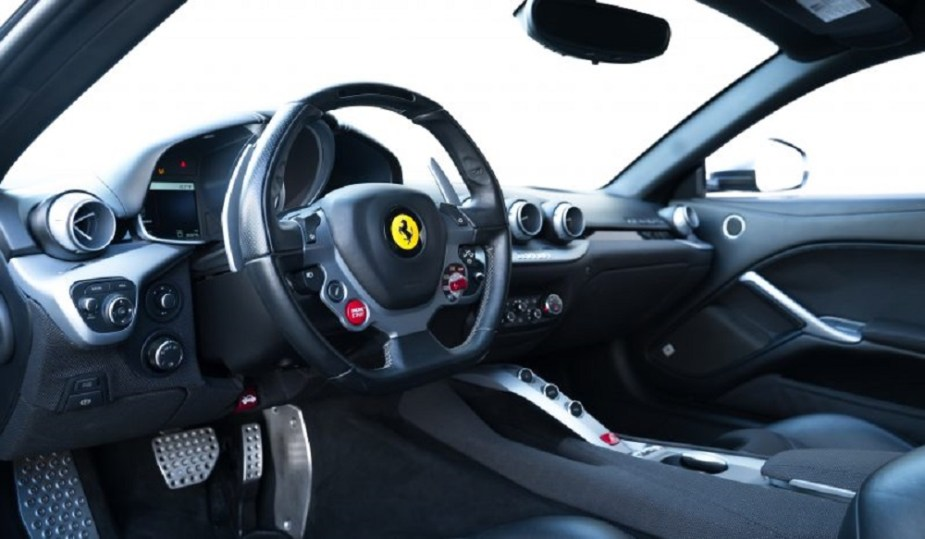 Jason Statham 2014 Ferrari F12