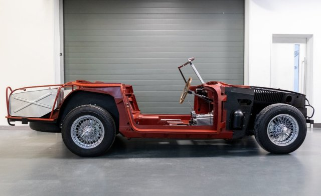Aston Martin DB4 Convertible Chassis Number 1173
