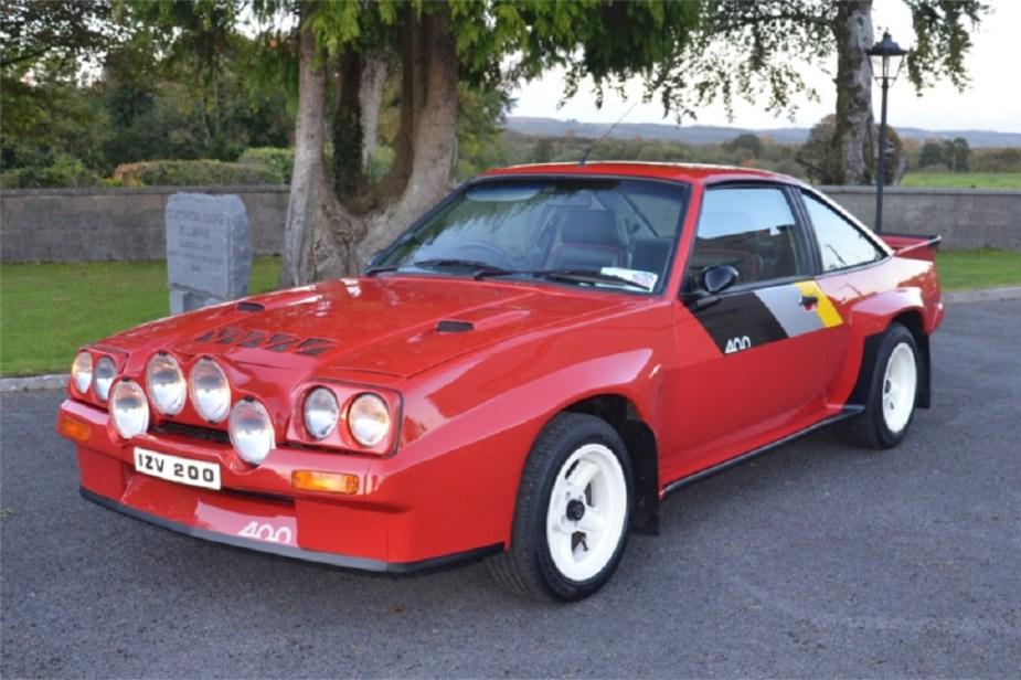 1985 Opel Manta 400 Tribute