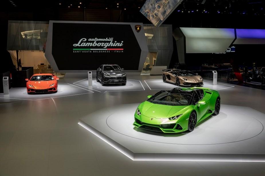 Lamborghini Geneva Auto Show