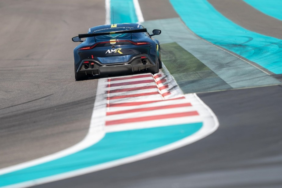 Aston Martin Racing Rear