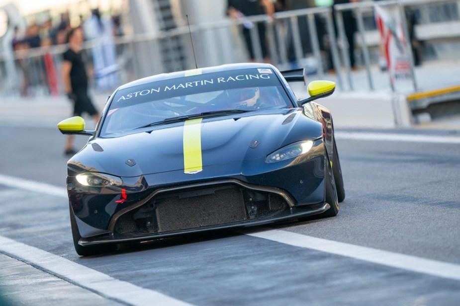 Aston Martin Racing Front
