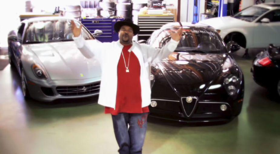 Sir Mix-A-Lot - Carz - Ferrari 599 GTB and Alfa Romeo 8C