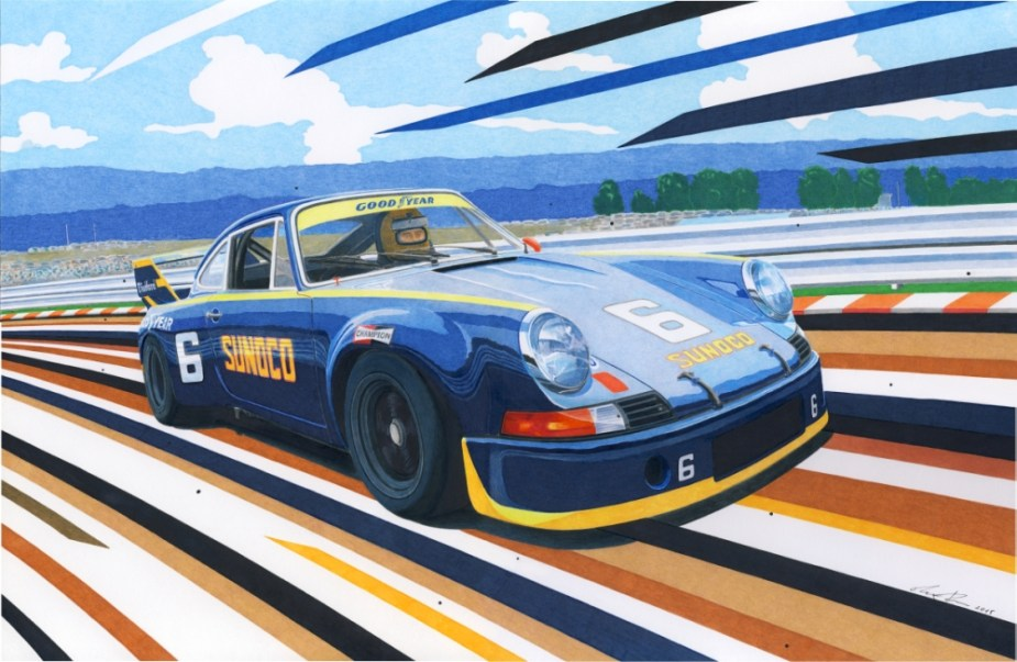 Sunoco Porsche 911 RSR