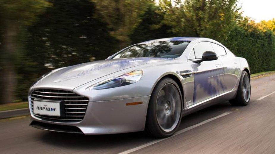 Aston Martin Rapide E Front Road