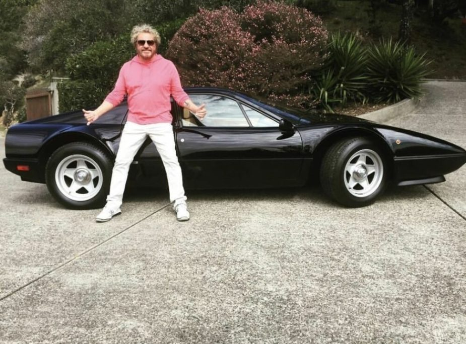 Sammy Hagar and Ferrari 308 GTB