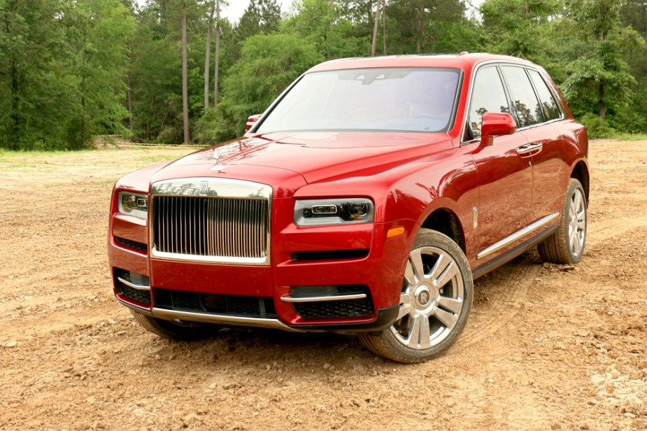 Teamspeed.com Rolls-Royce Cullinan at Texas Off-Road Invitational