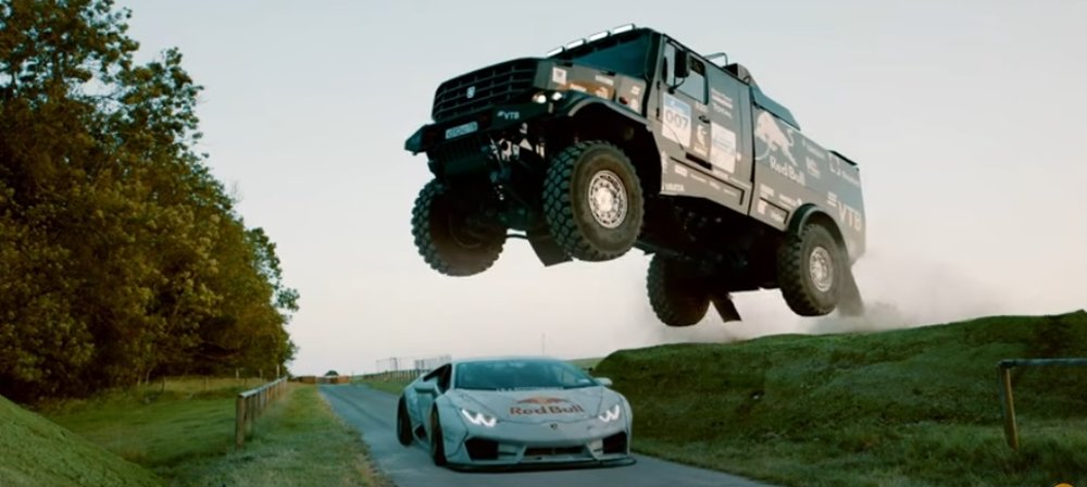 Lamborghini Vs Kamaz