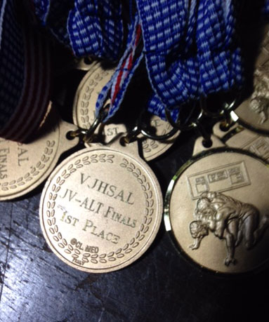 Engraving On Medals