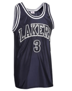 Sleeveless basketball team uniforms