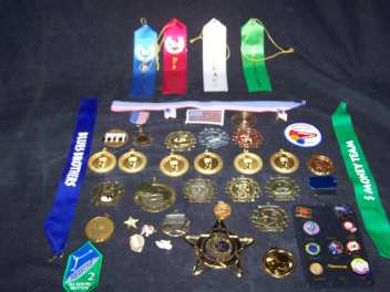Medals, Pins and Ribbons