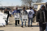 Railway Industrial Services Strike Rally