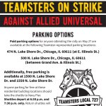 Teamsters Rally at Navy Pier, Saturday, May 27!