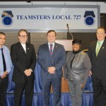 Local 727 Executive Board Elected to New Term