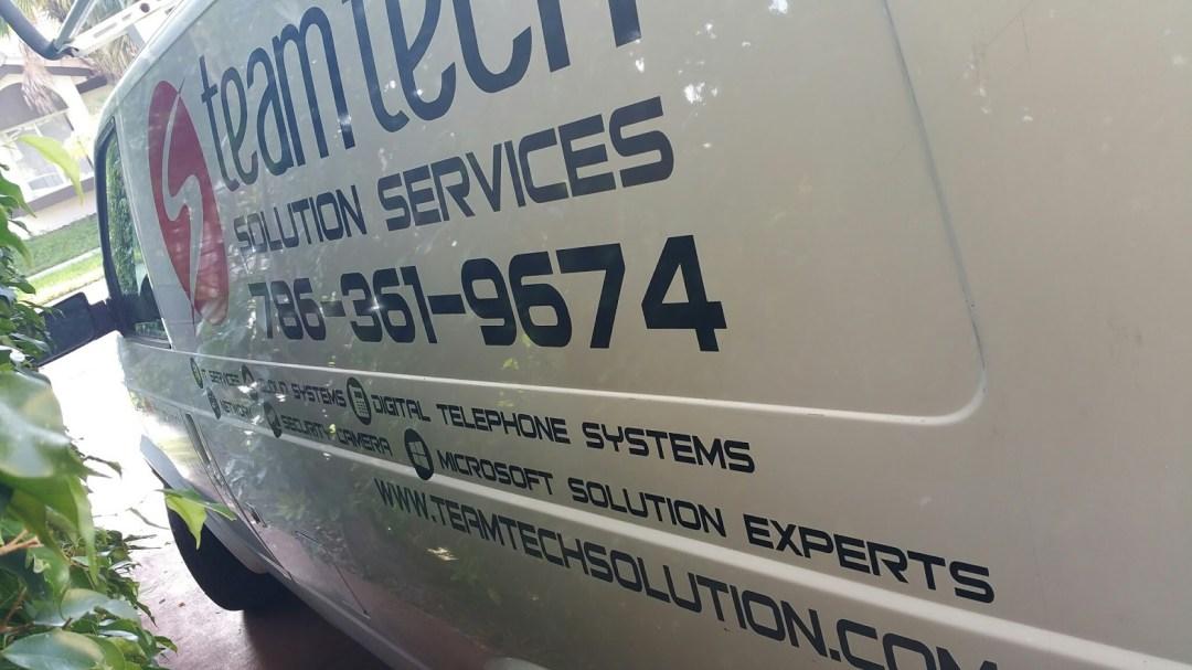 Installation Van # 3