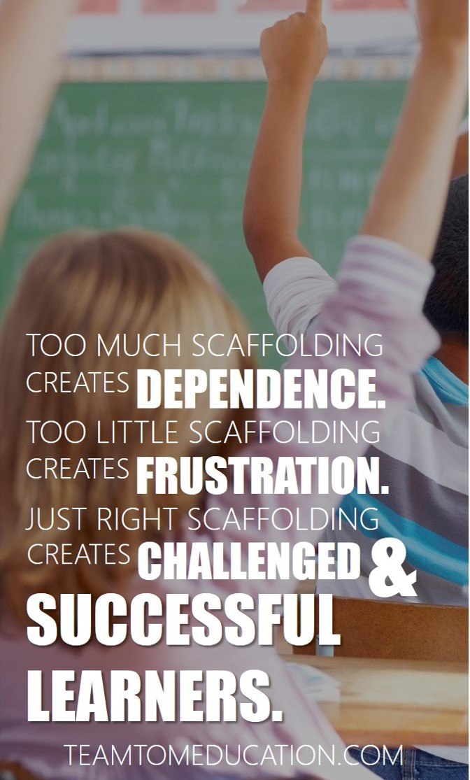 11 Teaching Strategies to provide Scaffolding.