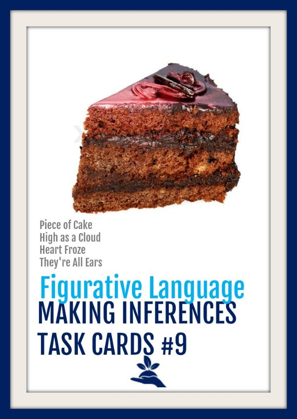 Making Inferences Task Cards 9  |  These making inferences task cards focus on inferring the meaning of figurative language, imagery, and sensory language. #elachat #engchat #teaching