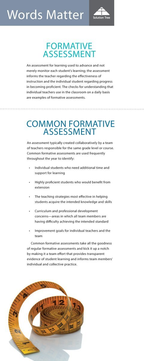 Best practices for common formative assessment.