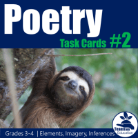 Poetry Task Cards for Rhyme Scheme - What is Rhyme Scheme?