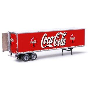 Semi-Trailer Coca-Cola Style Paper Model Kit