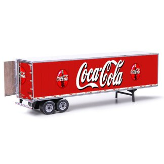 semi-trailer paper model kit coca-cola