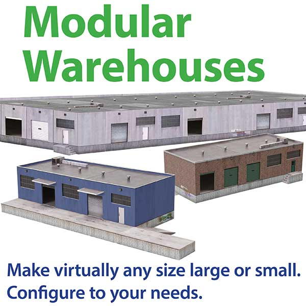 image relating to Ho Scale Buildings Free Printable Plans titled Downloadable Paper Style Kits for Scale Railroad Structures
