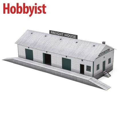 Freight House downloadable paper model