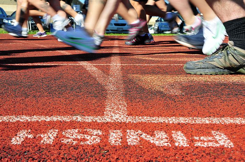 Finish line, healthy living, setting goals, goals