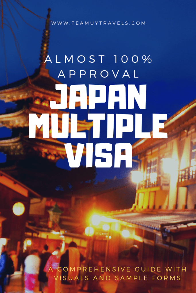 JAPAN MULTIPLE VISA- TEAM UY TRAVELS
