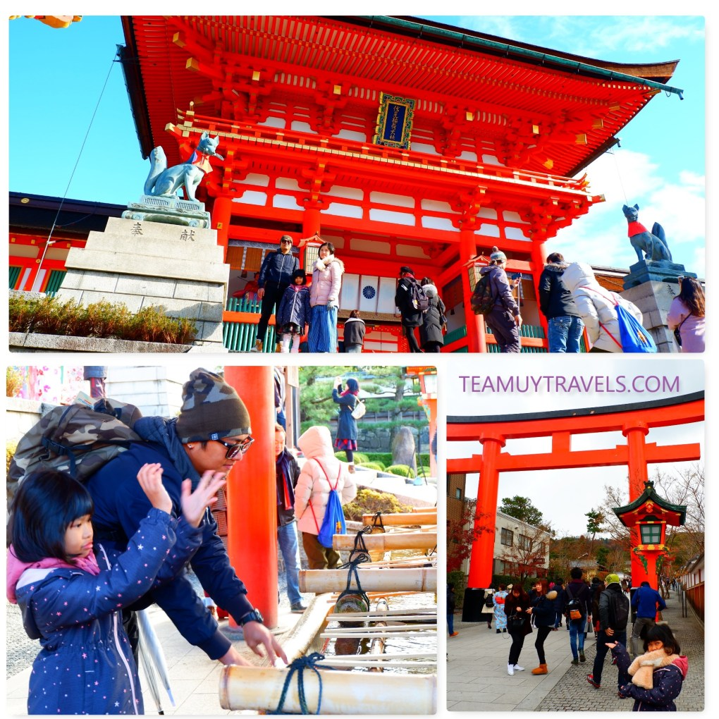Main Hall of Fushimi Inari Shrine, Team Uy Travels