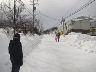 The streets of Hakuba