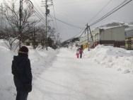 The streets of Hakuba