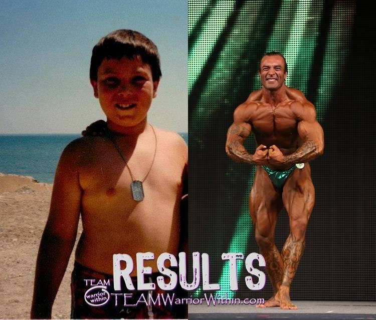 David Johnston Before After - Bodybuilding Coach Maryland