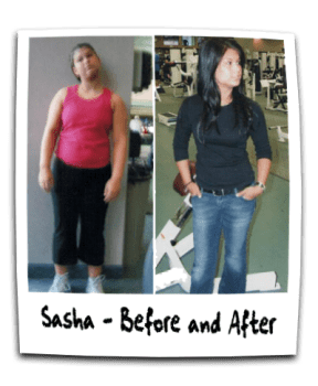 Sasha C - General Fitness - Weight Loss