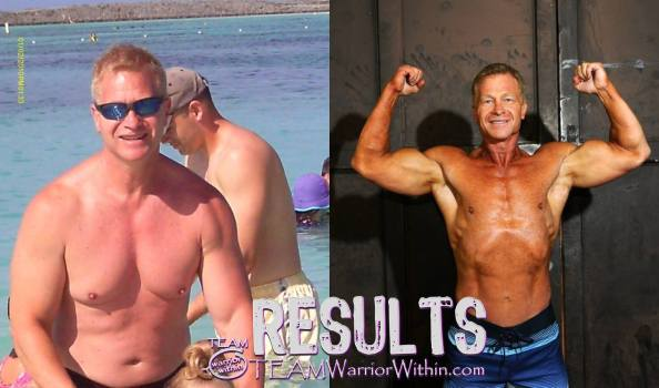 Jerry Freishtat - Before & After - Men's Physique Competitor - Maryland NPC Bodybuilding