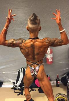 Kat Althoff - Women's Physique NPC - After