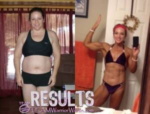 Christina Fahey - Muscle Gain - Before & After Pictures - Personal Training - NPC Maryland