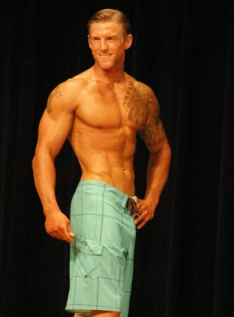 Steve Rovelstad -Before Muscle Gain - NPC Men's Physique Competitor - Maryland