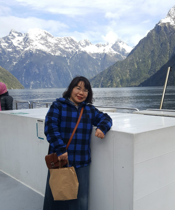 Milford Sound Small Boat Red