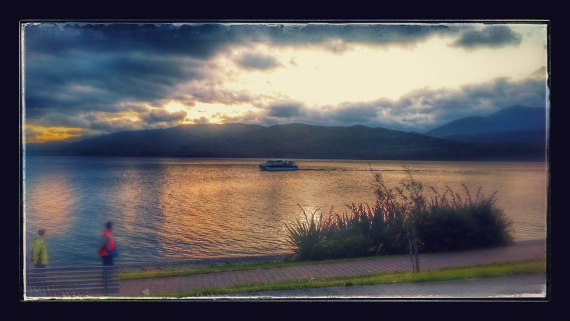 Te Anau Glowworms Caves Sunset Return