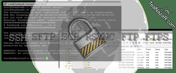 Securing WDMyCloud SSH & FTP Remote Access