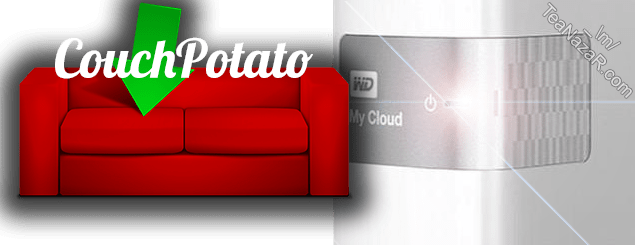 CouchPotato v3.0.1 for WD My Cloud firmware V4