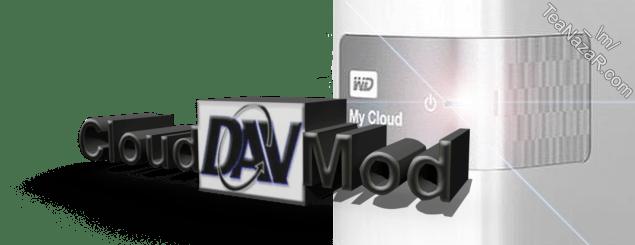 CloudDAVMod v1.1 for WD My Cloud firmware V4