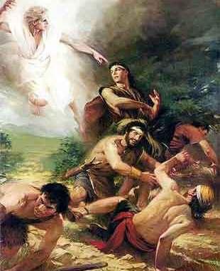 3 stones towards Christ