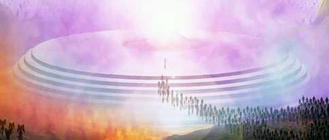 El concilio de los cielos, propuesta de Aribel