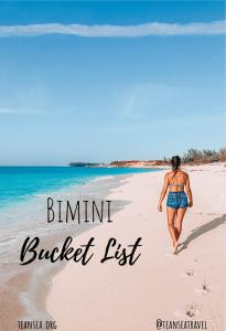 Bimini Bucket List